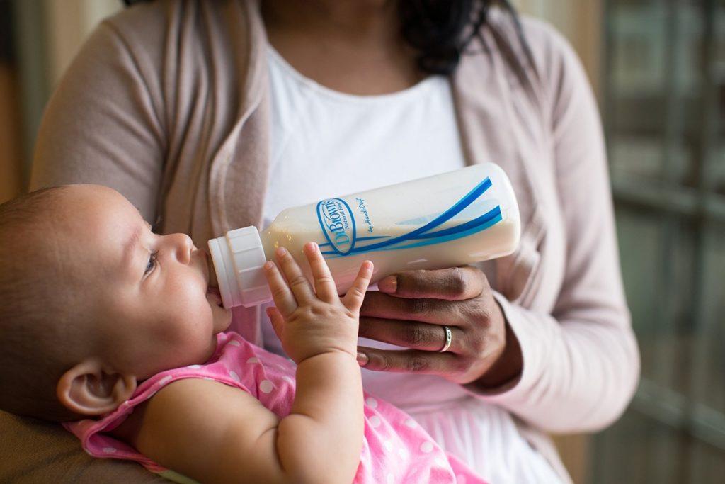 Dr. Brown´s Anti-Kolik-Flasche mit baby